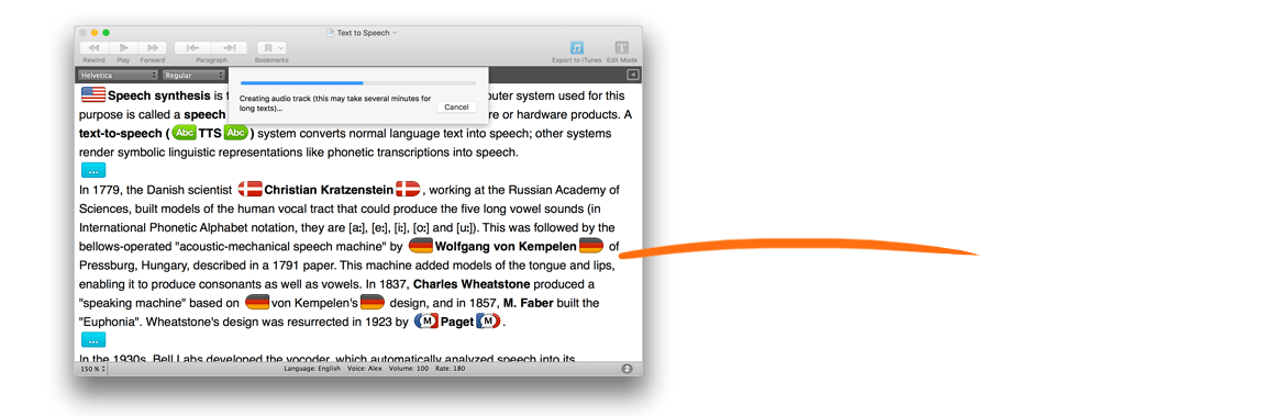 GhostReader : easy to use Text-to-Speech for Mac | ConvenienceWare